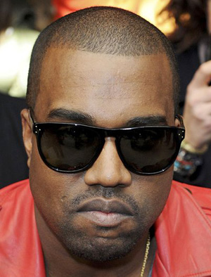 fad13b0942 Kanye West in Oliver Peoples Daddy B
