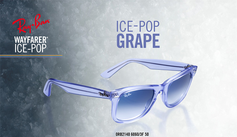 b72db4bf73 Ray Ban Wayfarer Ice Pop 2140 6060 3F Grape