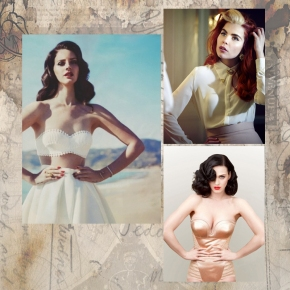 Lana Del Rey , Paloma Faith and Katy Perry